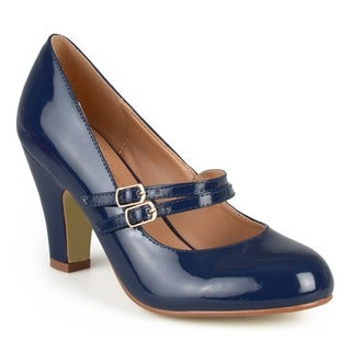 Link to Journee Collection Women's 'Wendy-09' Mary Jane Faux Leather Pumps Similar Items in Women's Shoes