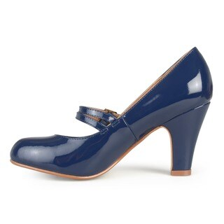 Journee Collection Women's 'Wendy-09' Mary Jane Faux Leather Pumps