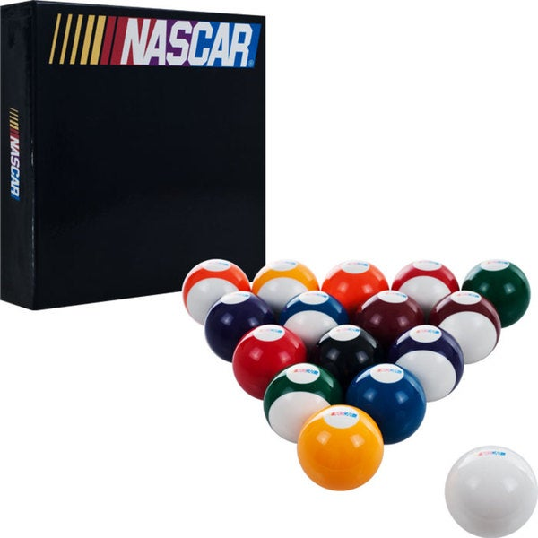 Nascar Set of 16 Billiard Balls