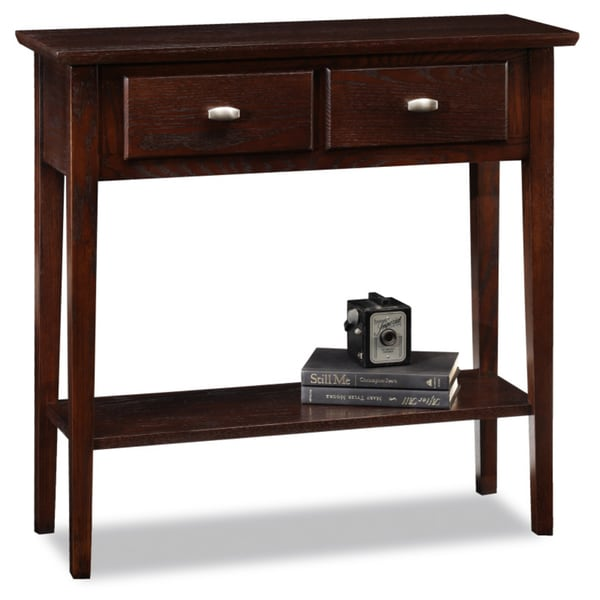 Favorite finds solid oak hall console sofa table free for Small sofa table