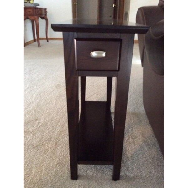 Favorite Finds Chairside Recliner Table   Free Shipping Today    Overstock.com   14755688