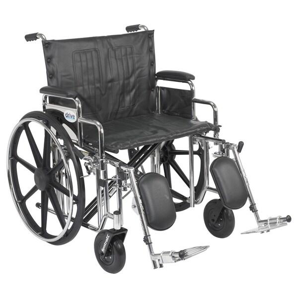 Drive Medical Sentra Extra Heavy-duty Wheelchair