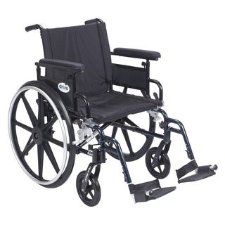 Viper Plus GT 20-inch Wheelchair with Flip-back Adjustable Arms