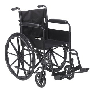 Drive Medical Silver Sport 1 Wheelchair with Full Arms and Swing Away Removable Footrest|https://ak1.ostkcdn.com/images/products/7280221/P14755757.jpg?_ostk_perf_=percv&impolicy=medium