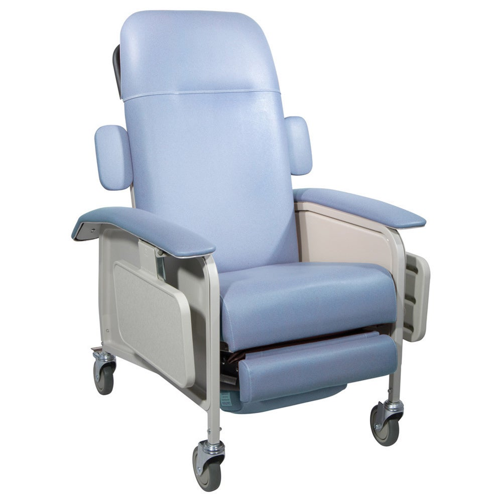 Drive Medical Clinical Care Geri Chair Recliner (Blue Ridge)