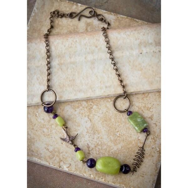 Vintage Petite Sparrow Necklace