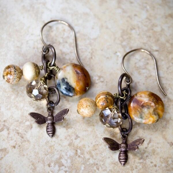 Busy Bee Earrings