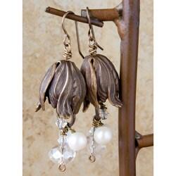 Vintage Petal Earings