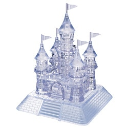 Bepuzzled 105-piece Castle 3D Crystal Puzzle