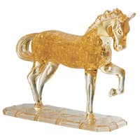 Bepuzzled Deluxe Horse 3D Crystal 100-piece Puzzle