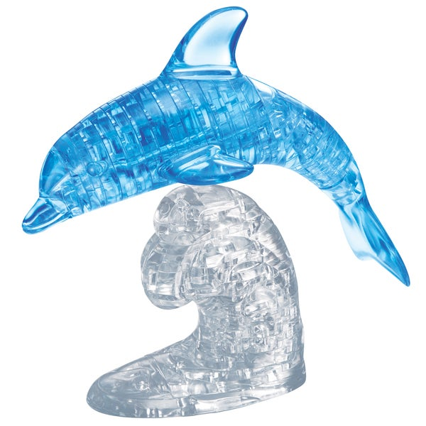 Bepuzzled 95-piece Dolphin 3D Crystal Puzzle