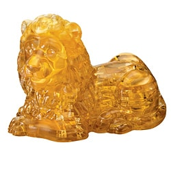 Bepuzzled 96-piece Lion 3D Crystal Puzzle