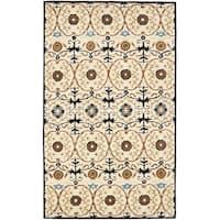 Safavieh Handmade Gramercy Ivory New Zealand Wool Rug - 8'3 x 11'