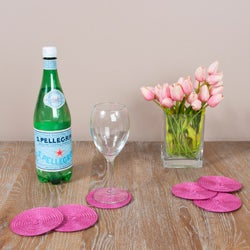 Cabana Fuchsia Coasters (Set of 6)