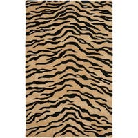 Safavieh Handmade New Zealand Wool Terra Brown Rug - 7'6 x 9'6
