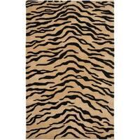 "Safavieh Handmade New Zealand Wool Terra Brown Rug - 7'6"" x 9'6"""