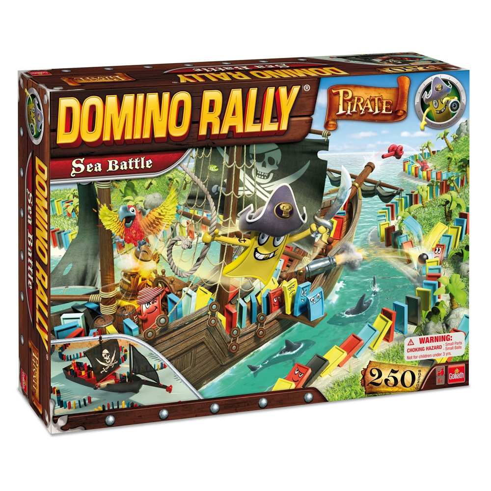 Goliath Domino Rally Pirate Sea Battle