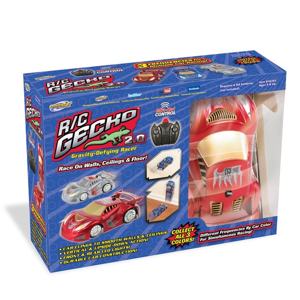 Remote Controlled Gecko 2.0 Gravity Defying Racer Car