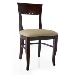 Biedermier Chairs (Set Of 2) (Option: Mahogany)