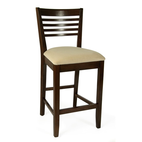 Venetian Beech Wood Counter Stool