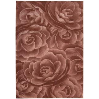 Nourison Hand-tufted Moda Blush Petal Rug (3'6 x 5'6)
