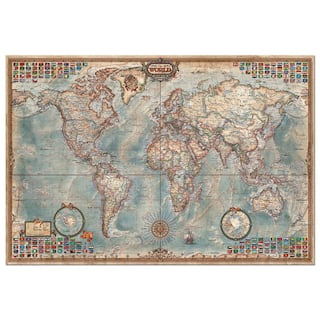 John n hansen co toys hobbies shop our best sports outdoors the world map flags 4000 piece puzzle gumiabroncs Image collections