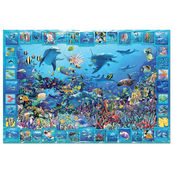 John N. Hansen Co. Dolphin Kingdom 5000-piece Puzzle