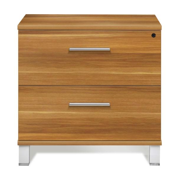 Shop Jesper Office Applewood Lateral File Cabinet Free