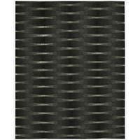 Nourison Hand-tufted Moda Black Geometric Rug - 7'6 x 9'6