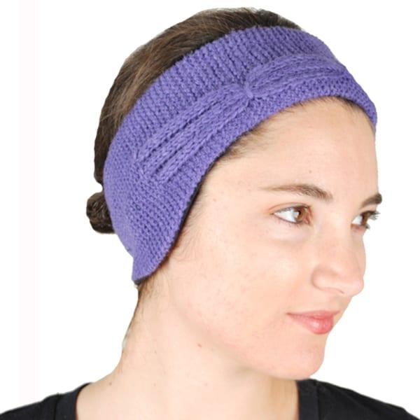 Cable Knit Winter Headband (Nepal)