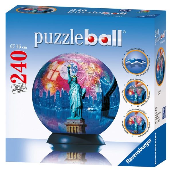Ravensburger 240-piece New York City Puzzle Ball