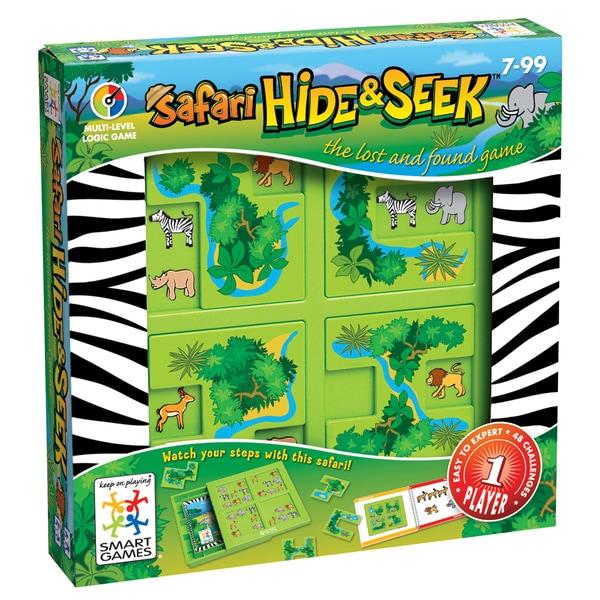 SmartGames Safari Hide and Seek Puzzle Game