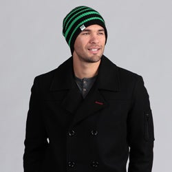Minus33 Unisex 'SB' Mid-weight Merino Wool-blend Reversible Beanie Hat
