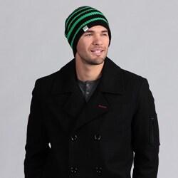 Minus33 Unisex 'SB' Mid-weight Merino Wool-blend Reversible Beanie Hat (Option: Black)