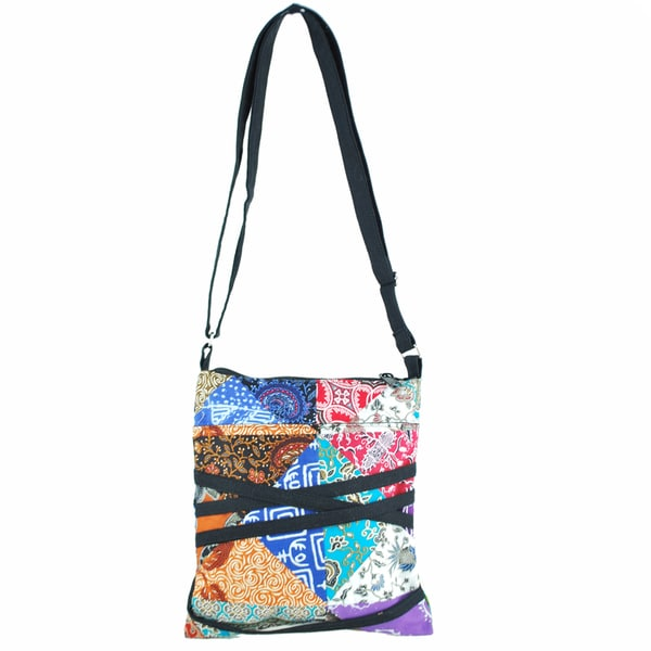 Patch Cotton Travel Purse (Indonesia)