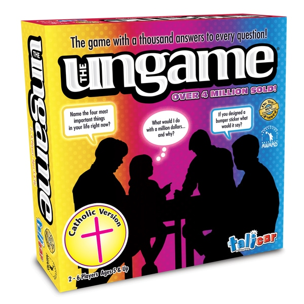 Talicor The Ungame Catholic Version Board Game