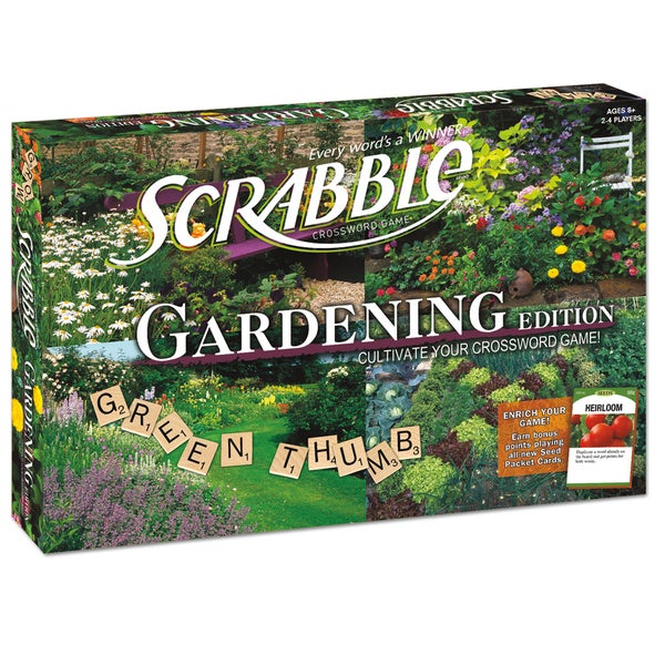 Scrabble Gardening Edition