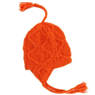Wave Knit Winter Hat (Nepal)