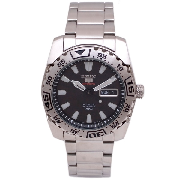 Seiko 5 Men's SRP165 Stainless Steel Sports Watch