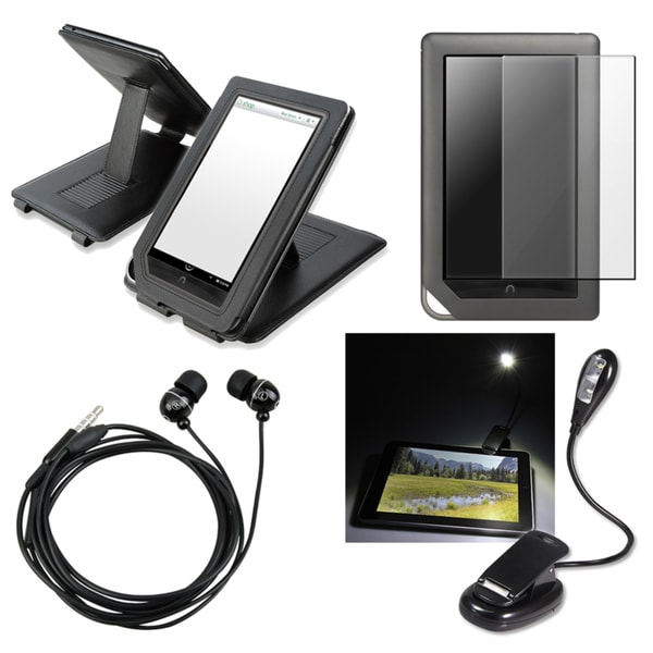 INSTEN Phone Case Cover/ Screen Protector/ LED Light for Barnes & Noble Nook Color