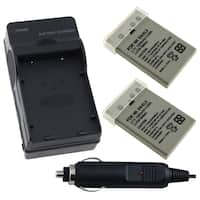 INSTEN Battery Charger/ Li-ion Battery for Nikon Coolpix 7900/ P5000