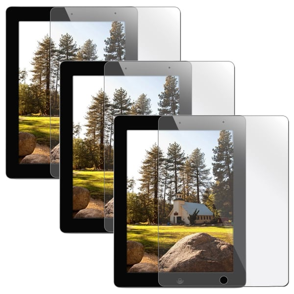 INSTEN Clear Screen Protector for Apple iPad 2/ 3 (Pack of 3)