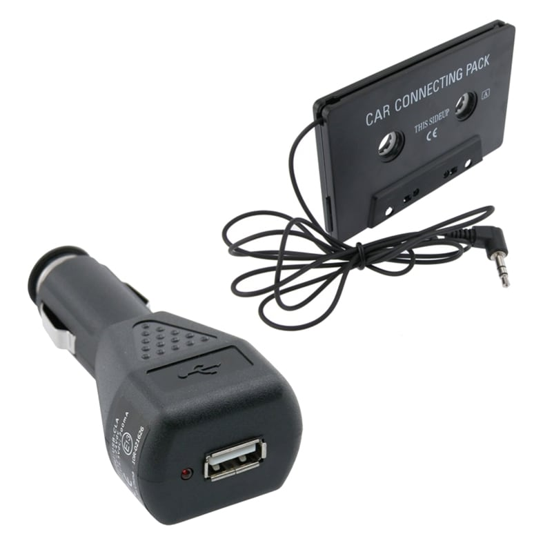 INSTEN Car Audio Cassette Adapter/ Car Charger