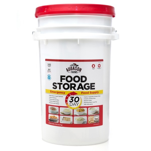 Augason Farms 30-Day Emergency Food Storage Supply Pail