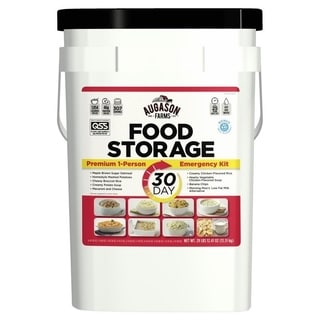 Augason Farms 30-Day Emergency Food Storage Supply Pail - White