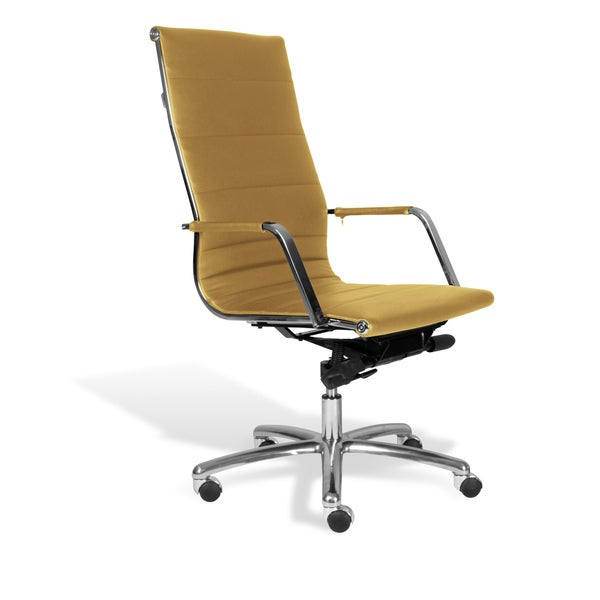 Shop Jesper Office Mustard Commercial Grade Modern Office