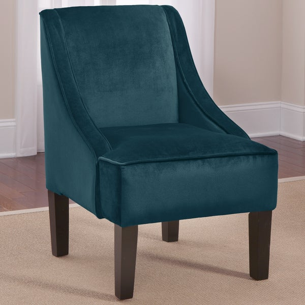Skyline Peacock Swoop Arm Chair