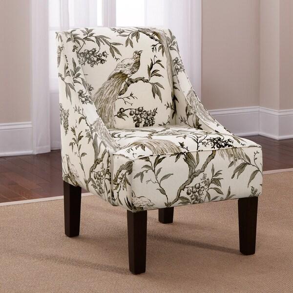 Shop Skyline Roberata Winters Swoop Arm Chair Overstock