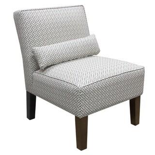 Skyline Cross Section Grey Armless Chair
