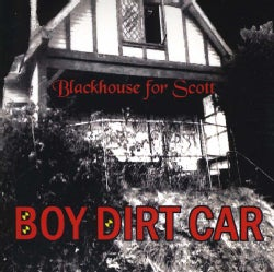 BOY DIRT CAR - BLACK HOUSE FOR SCOTT